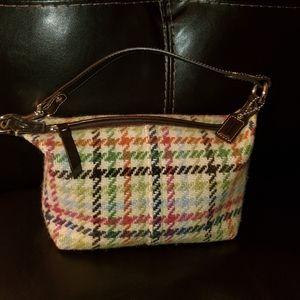 Coach tattersall Hampton handbag